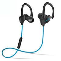 Фитнес bluetooth 4.1 гарнитура Freesolo 56S синяя беспроводная стерео для тефонов универсальная блютуз наушник