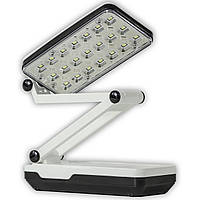 Аккумуляторная Led лампа YAGE YG-5913C белая мини настольная прикроватная складная для чтения с аккумулятором