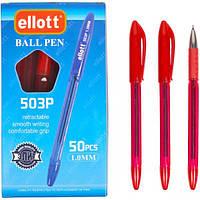 Ручка масляна Ellott 503 P червона