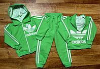 """Спортивный детский костюм """"Adidas"""", салатовый. Акция!"""