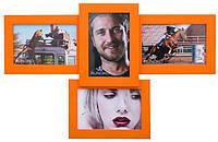 Эксклюзивная фоторамка «Авиа» Оранжевая
