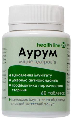 Диетическая добавка Аурум для укрепления иммунитета 60табл.