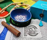 Чаша поющая, чакральная, - Вишуддха, в подарочной коробке
