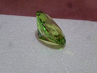 Декоративный кристалл фен шуй зеленый 3,7 сантиметров диаметр
