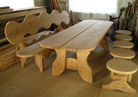 Мебель садовая из натурального дерева Гамма КОМПЛЕКТ