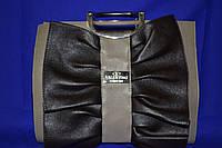Красивая сумка от Valentino ( копия )  тёмно-бежевая с коричневым