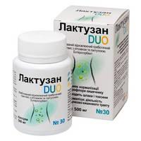 Диетическая добавка Лактузан DUO пребиотик, энтеросорбент 30капс.