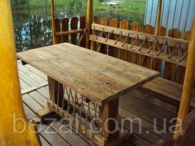 Мебель садовая из натурального дерева Кантри КОМПЛЕКТ