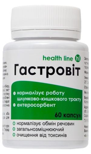 Диетическая добавка Гастровит для желудочно-кишечного тракта 60капс.