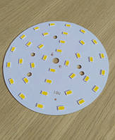 Светодиодная сборка круглая 18W 4000K из 36 smd 5730 (60-65Lm)  на ал. диске 100мм