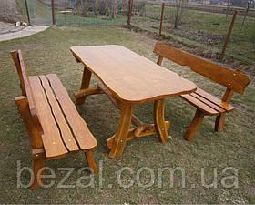 Мебель садовая из натурального дерева Мещанка 2м КОМПЛЕКТ