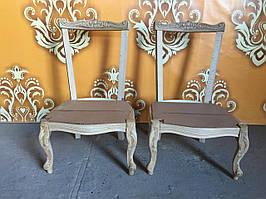 Итальянское мягкое кресло для ребенка барокко каркас.