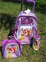 Детский чемодан 3 в 1 Принцессы