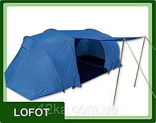 Палатка Presto Lofot 4 клеенные швы тамбур, фото 3
