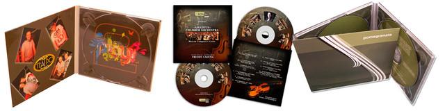 вкладыши, упаковка для CD, DVD, дизайн упаковки для дисков