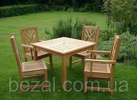 Мебель садовая из натурального дерева Уют КОМПЛЕКТ