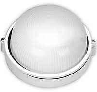RIGHT HAUSEN Светильник настенный 60W IP54 белый круг