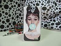 Силиконовый бампер чехол с рисунком для Lenovo s898t/s8