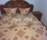 Комплект постельного БЯЗЬ оптом и в розницу, Платочек бежевый 1048