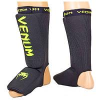 Защита голени и стопы Venum CO-5810-BKG