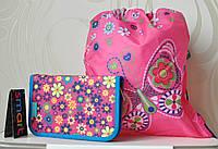 Комплект Бабочка сумочка для сменки и пенал