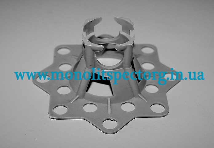 Подставка для арматуры Настил 15, 20 мм. - фиксатор арматуры с опорным основанием, 250 штук в упаковке