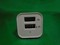USB зарядка в прикуриватель 2 порта 12-24В