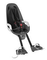 Велокресло детское HAMAX Observer переднее серое/чёрное