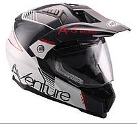 Мотоциклетный шлем NAXA ENDURO CO3/D r.L+BLENDA+Стекло