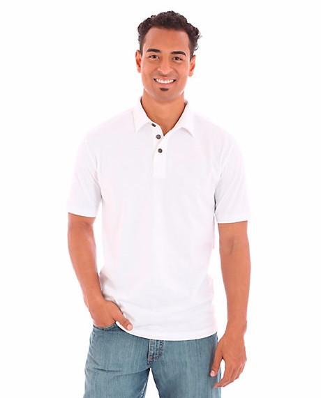 Мужская тенниска поло Wrangler - Bright White