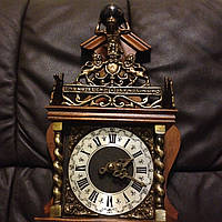 Часы винтажные nu elck syn sin (ручная работа)