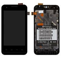 Модуль дисплей+сенсор+рамка Prestigio 4040