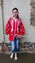 Блузка бохо женская вышитая, вышиванка лен, этностиль, фото 2