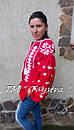 Блузка бохо женская вышитая, вышиванка лен, этностиль, фото 3