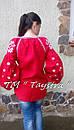 Блузка бохо женская вышитая, вышиванка лен, этностиль, фото 4