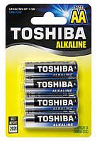 Батарейки Toshiba - Alkaline Blue Line ААА LR03 1.5V 4/48/192шт