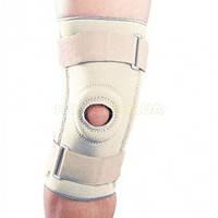 Бандаж на коленный сустав неопреновый со спиральными ребрами