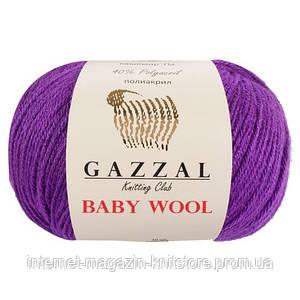 Пряжа Gazzal Baby Wool Пурпур