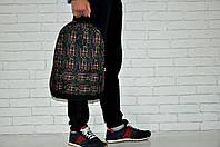 Городской рюкзак мужской, женский, для ноутбука Принт