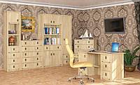 """Модульная система """"Валенсия"""".  Комплект для домашнего кабинета"""