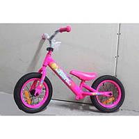 Велобег детский розовый