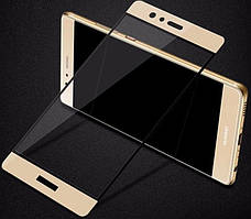 Защитное стекло для Huawei P10 цветное Full Screen