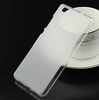 Силиконовый чехол накладка для Huawei P9 Lite White