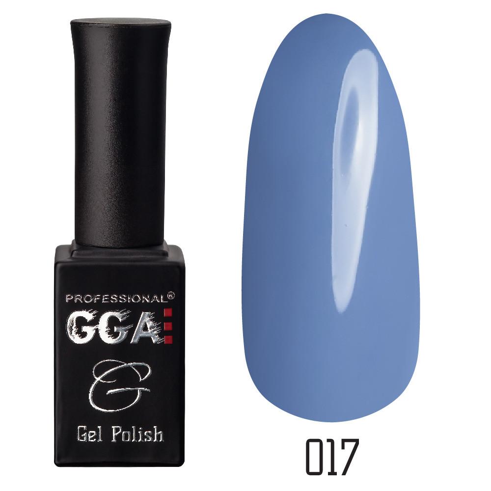 Гель-лак GGA Professional №17 Glaucous 10 мл.