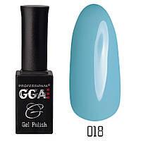 Гель-лак GGA Professional №18 Baby Blue 10 мл.