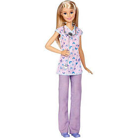 """Кукла Barbie серии """"Я могу быть"""" Медсестра / Barbie Nurse Career Doll"""