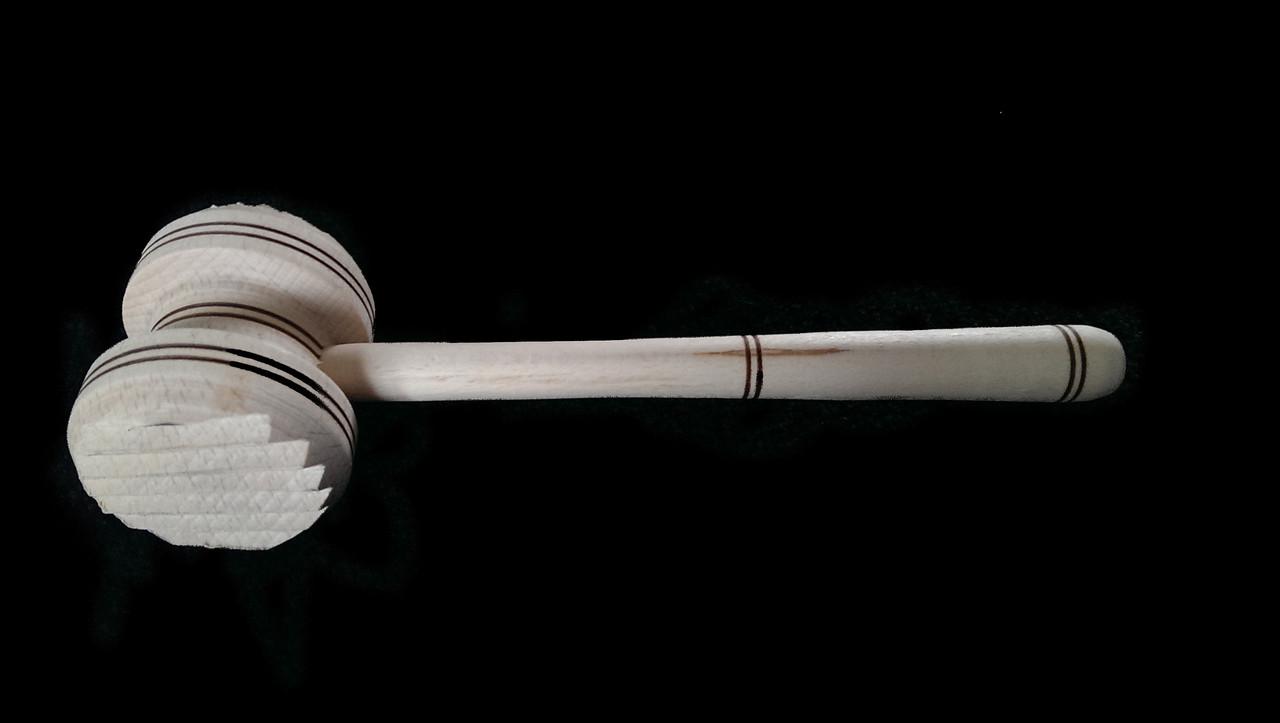 Молоток деревянный отбивной 27 см опт