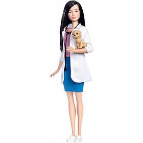 """Кукла Barbie серии """"Я могу быть"""" ветеринар с питомцем / Barbie Pet Vet Career Doll With Puppy Patient"""