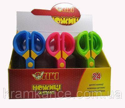 Ножницы  детские TIKI-51311 12.5см