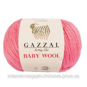 Пряжа Gazzal Baby Wool Розовый